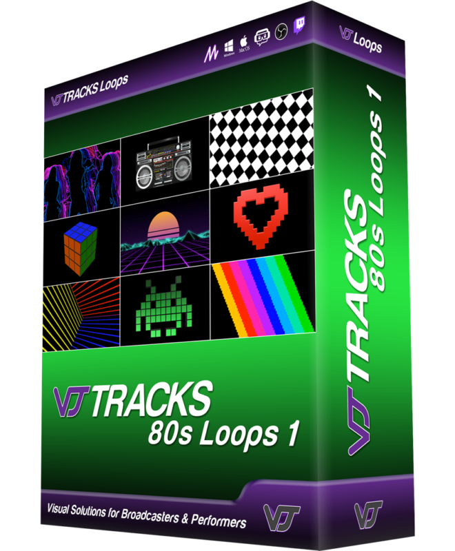 VJ Tracks 80s Loops 1